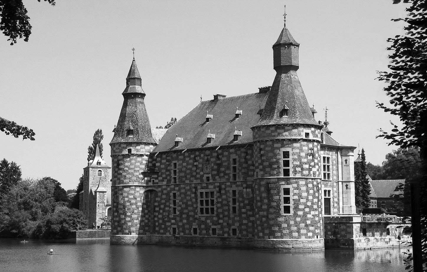 Rénovation du Château de Jehay