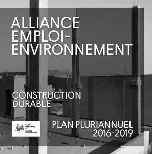 Lancement de l'Alliance Emploi-Environnement