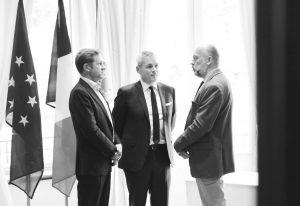 M. Renier, nouveau Président de la CWaPE