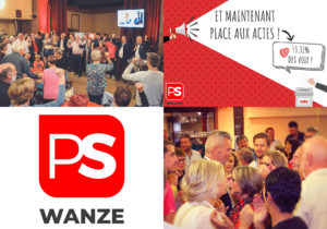 Réunis en Assemblée générale ce 30 octobre 2018, les militant(e)s du PS Wanze ont pris acte du résultat des élections communales.